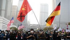 Hong Kong Police fire tear gas at activists protesting China's new security law