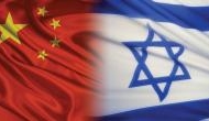 Now, China's relations with Israel are in steep decline