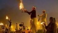 योगी सरकार का बड़ा ऐलान, मां गंगा की आरती के लिए बिजनौर से बलिया तक बनाए जाएंगे 1100 चबूतरे