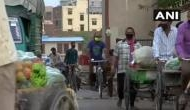 COVID-19: People at Delhi's Gazipur market follow health norms