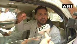 Gopalganj firing incident: Tejashwi Yadav leaves from Patna, demands justice for victims