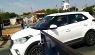 #Unlock1: Vehicles from Telangana being stopped at Garikapadu checkpost
