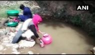 J-K: Villagers forced to use contaminated water from nullah in Kathua
