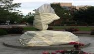George Floyd Protests: Mahatma Gandhi statue outside Indian Embassy in Washington desecrated