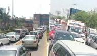 Traffic jam at DND flyway as Delhi borders open