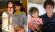 Here's how Amitabh Bachchan reacted after Shah Rukh Khan said AbRam's heroine will be Aaradhya Bachchan