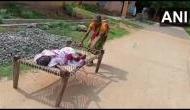 बैंक ने पैसे देने से किया मना, 100 साल की मां को चारपाई पर घसीटकर ले जाना पड़ा बैंक