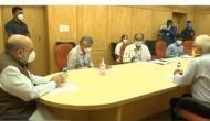 कोरोना संकट: दिल्ली के LNJP अस्पताल पहुंचे गृह मंत्री अमित शाह, तैयारियों का लिया जायजा