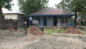 COVID-19 Unlock 1.0: Construction work begins in J-K's Baramulla