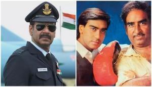 Bhuj actor Ajay Devgn steps in father Veeru Devgan's shoes; directs combat scenes for Sanjay Dutt