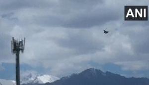 भारत-चीन विवाद: अलर्ट पर भारतीय वायुसेना, लद्दाख में फाइटर जेट ने तेज की गश्त
