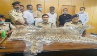Chhattisgarh: 55-year-old man held with leopard skin