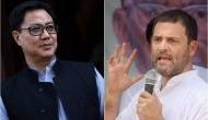 केंद्रीय मंत्री किरण रिजिजू का राहुल गांधी पर हमला, कहा- यह आदमी सेना पर सवाल उठाता है