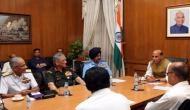 रक्षा मंत्री, CDS और तीनों सेना प्रमुखों की अहम बैठक, लद्दाख के हालातों को लेकर हुई चर्चा