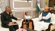 CDS, three service chiefs meet Rajnath Singh, review Ladakh situation