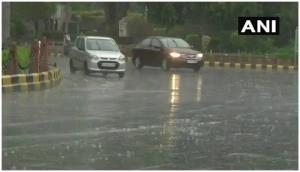 Weather Alert: Rain lashes parts of Delhi-NCR on Monday morning