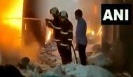 Maharashtra: Fire at scrap godown in Mumbai