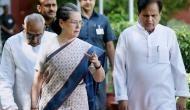 'कांग्रेस में फिर बगावती सुर, 100 कांग्रेसी नेताओं ने सोनिया गांधी से की नेतृत्व में बदलाव की मांग'