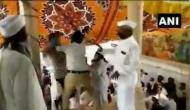 Rajasthan: Two Congress workers clash at a condolence meeting in Ajmer