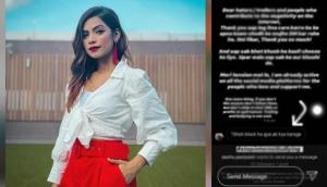 Tik Tok star Nagma Mirajkar lashes out at haters for bullying her over Chinese app ban