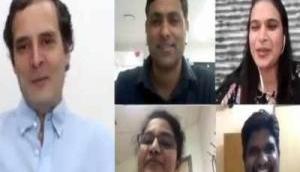 Rahul Gandhi interacts with nurses on COVID-19 crisis