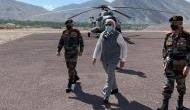 भारत-चीन विवाद: लद्दाख में सैनिकों का हौसला बढ़ाने सुबह-सुबह लेह पहुंच गए प्रधानमंत्री नरेंद्र मोदी