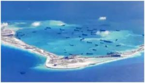 US expresses concern over China's military drills in disputed South China Sea