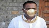 Pune: Man dons gold mask worth Rs 2.89 lakhs amid COVID-19