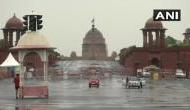 Delhi receives light rainfall on Sunday morning