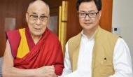 सीमा पर चीन के साथ तनाव के बीच केंद्रीय मंत्री किरेन रिजिजू ने दलाई लामा को दी जन्मदिन की बधाई