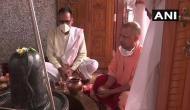 First Monday of Sawan 2020: UP CM Yogi Adityanath offers prayers at Mansarovar Temple in Gorakhpur