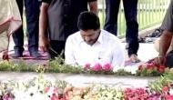 Andhra CM pays tribute to his father YS Rajasekhara Reddy on birth anniversary