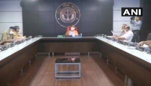 Yogi Adityanath holds COVID-19 review meeting