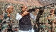 लेह के बाद LOC पर फॉरवर्ड एरिया के दौरे पर रक्षामंत्री, बाबा अमरनाथ का करेंगे दर्शन