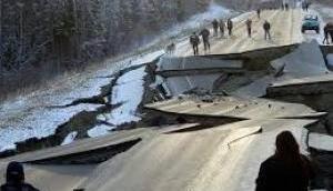 अलास्का : इतना शक्तिशाली भूकंप आया कि 500 मील दूर तक महसूस किये गए झटके