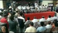 Hyderabad: Social distancing norms violated at private event attended by TRS leaders