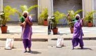 Video: 75 साल की इस दादी के खतरनाक स्टंट देख उड़ जाएंगे होश, पापी पेट के लिए करती है ये काम