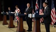 US-Australia reaffirm commitment to Quad consultation with India, Japan; slam China for its actions in Hong Kong