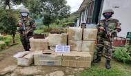 Assam Rifles recovers huge quantity of illegal air rifle scopes from Mizoram
