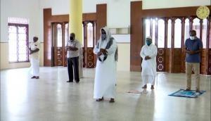 Eid al-Adha: Prayers offered in Kerala ensuring social distancing