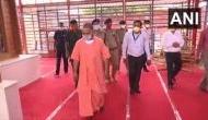 राम मंदिर शिलान्यास से दो दिन पहले अयोध्या पहुंचे CM योगी, ट्वीट कर लोगों से की ये अपील