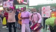 US: Bhajans, Jai Shri Ram chants at Times Square to celebrate 'bhoomi pujan'