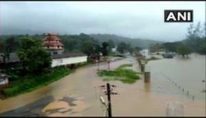 Karnataka: Heavy showers lead to waterlogging, flood-like situation in Kodagu district