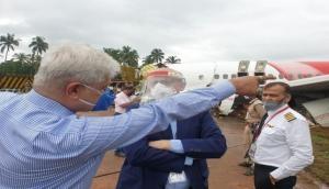 Kerala plane crash: Air India CMD takes stock of situation at site