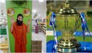 IPL 2020: बाबा रामदेव की कंपनी पतंजलि स्पॉन्सरशिप के लिए लगा सकती है बोली
