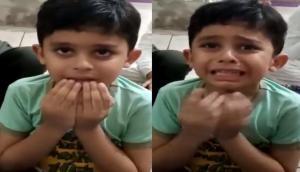 स्कूल खुलने की बात सुनकर फूट-फूटकर रोने लगा बच्चा, वीडियो देख हंस पड़ेंगे आप
