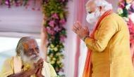 राम मंदिर ट्रस्ट के अध्यक्ष महंत गोपालदास कोरोना पॉजिटिव, अयोध्या में पीएम मोदी के साथ शेयर किया था मंच