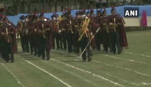 Independence Day 2020: Full dress rehearsal at Sher-i-Kashmir Stadium in Srinagar