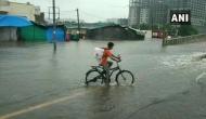 Gujarat: Waterlogging in parts of Surat post heavy rainfall