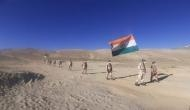 Independence Day 2020: ITBP jawans celebrates at 16,000 feet in Ladakh